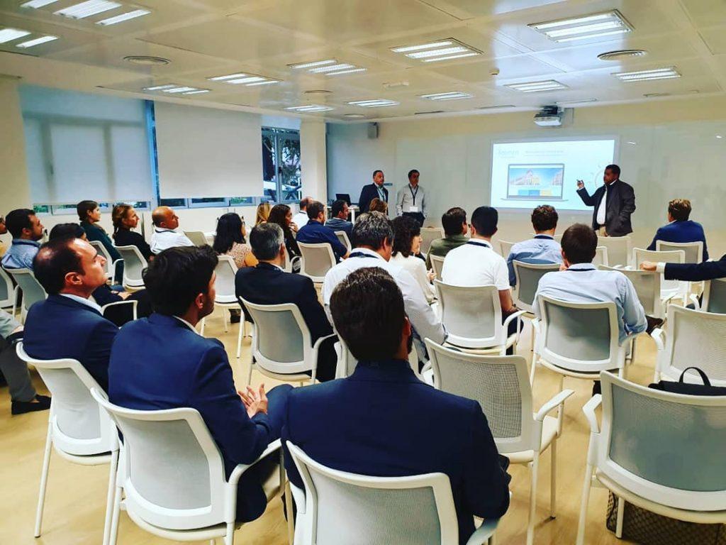 Presentación de IdecNet en Madrid