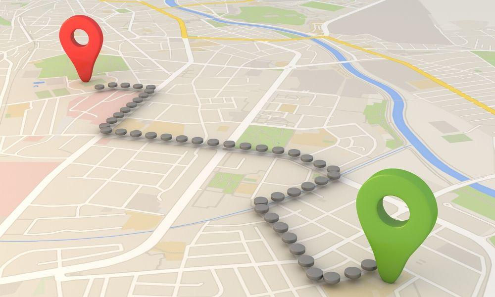 ¿Cuánto es 1km desde casa?